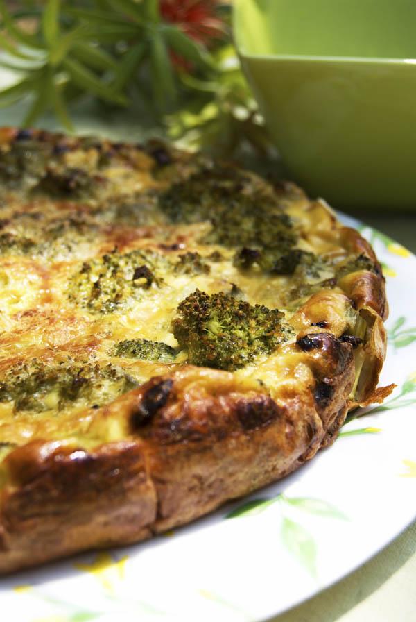 Broccolin-pie
