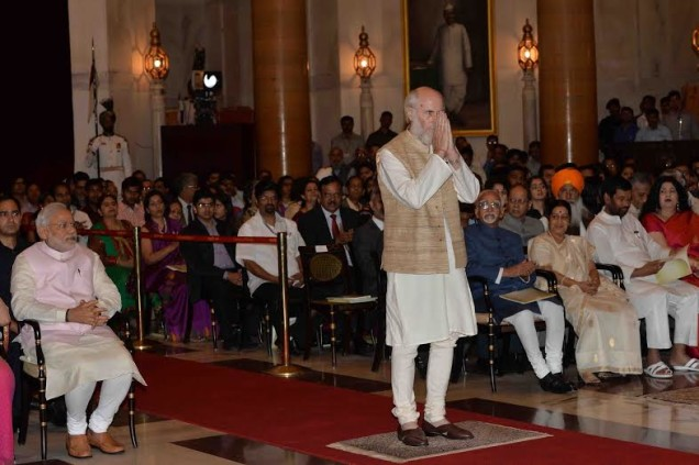 Dr. David Frawley D.Litt. (Pandit Vamadeva Shastri) on March 31, 2015 received the prestigious Padma Bhushan award from the government of India, one of the highest civilian awards granted in the country.